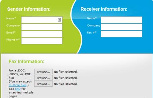 Как отправить факс бесплатно онлайн