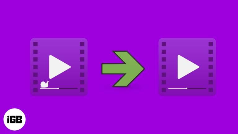 Как конвертировать замедленное видео в нормальное видео на iPhone и iPad