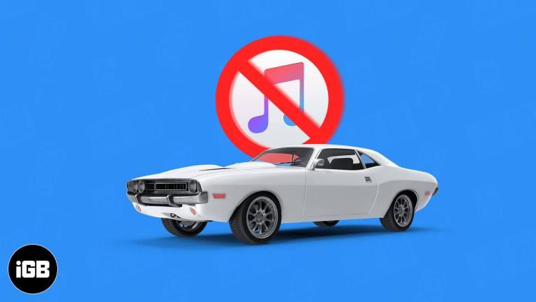 Как остановить iPhone от автовоспроизведения музыки в машине