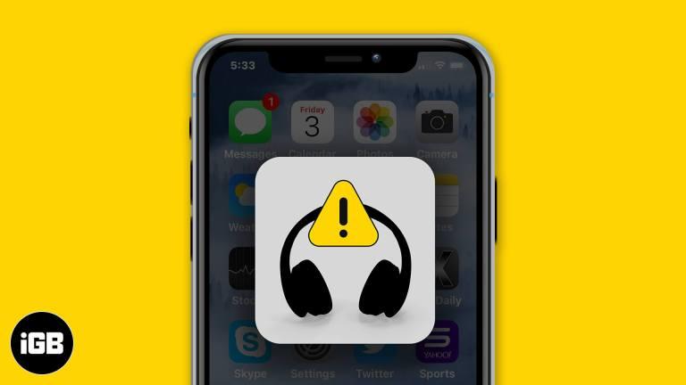 Как исправить зависание iPhone в режиме наушников