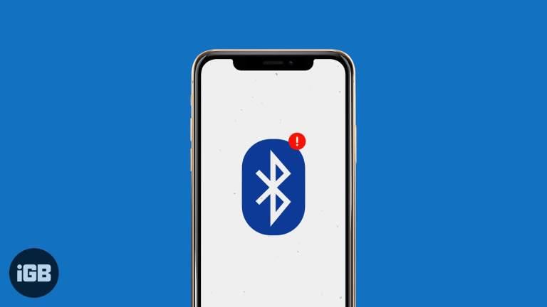 Bluetooth не работает в iOS 14 на iPhone или iPad?  Как это исправить!
