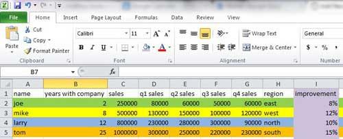 Как заполнить ячейку цветом в Excel?