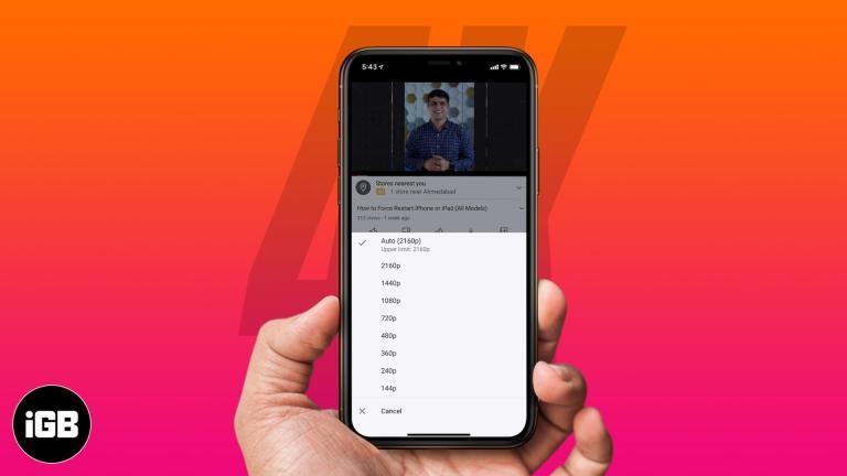 iOS 14: как смотреть видео 4K YouTube на iPhone, iPad и Apple TV