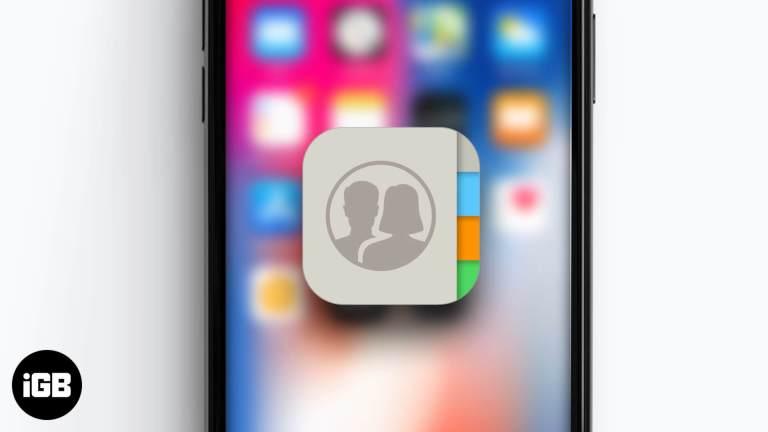 Как создать группу контактов на iPhone (всего за 4 шага)