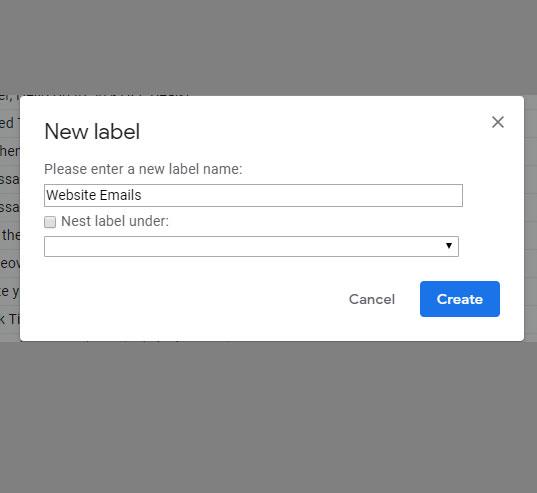Как создавать папки в Gmail