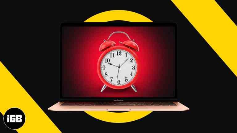 Как установить будильник на Mac с помощью приложения Календарь и 4 других способа