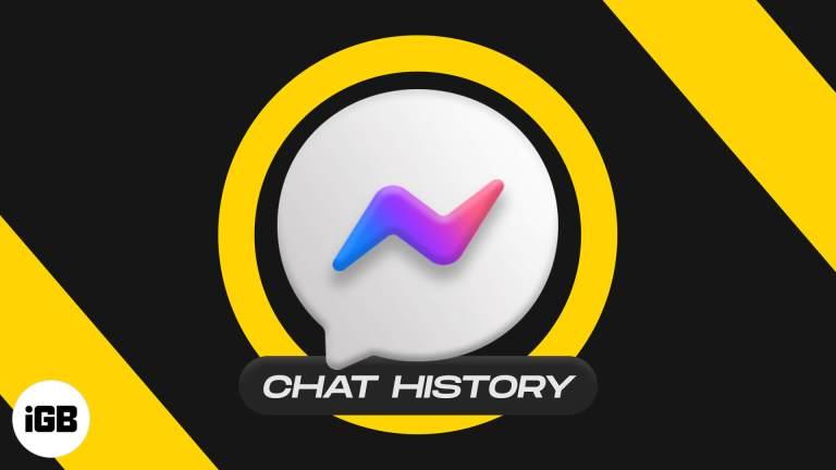 Как найти историю Facebook Messenger на iPhone, iPad или компьютере