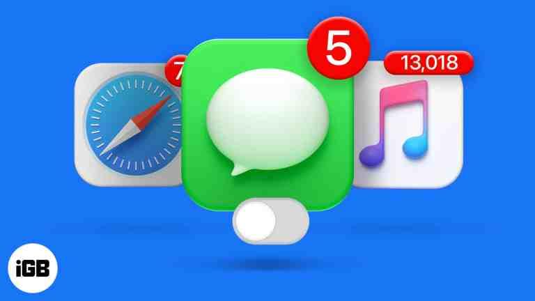Как отключить красный значок уведомления на значках приложений на iPhone