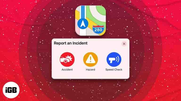 iOS 14.5: как сообщать об авариях, опасностях или проверках скорости в Apple Maps