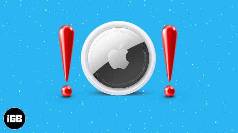 AirTag не работает с iPhone и iPad?  9 исправлений, которые обязательно нужно попробовать