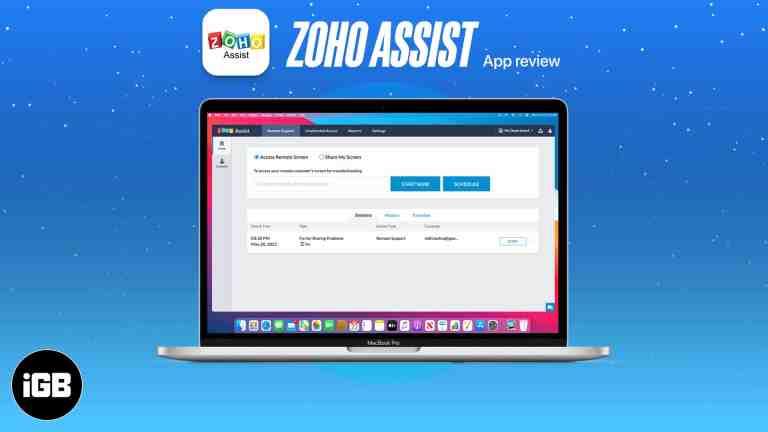 Zoho Assist для Mac: доступная и надежная удаленная поддержка