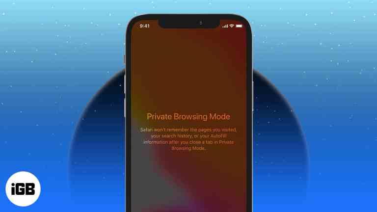 Как включить и использовать приватный просмотр в Safari на iPhone