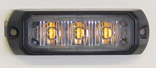 LED Vilkku 3x leltainen LED