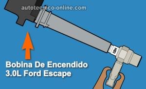 Parte 1 Cómo Probar las Bobinas de Encendido (30L Ford Escape)