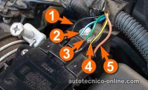 Parte 3 Cómo Probar El Sensor MAF (18L Toyota Corolla)