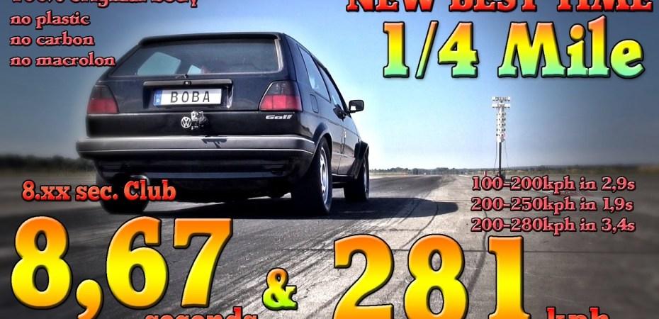 VW Golf сравнимый с Bugatti Veyron