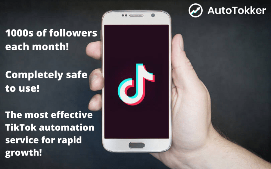 AutoTokker is the safest and fastest way to grow a large TikTok following. 1000s of TikTok followers each day.