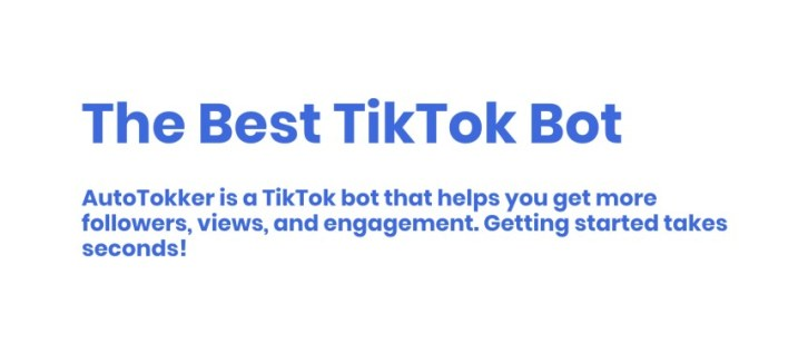 The best Tiktok bot with no shadowbans.