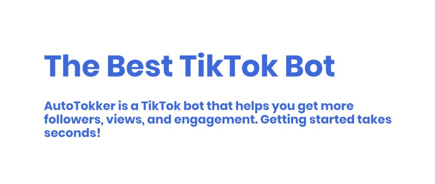 TikTok Jarvee bot. TikTok automation software like Jarvee for Instagram. AutoTokker is the best TikTok bot.