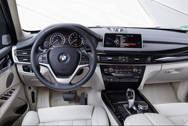 2018 BMW X5 Interior Design