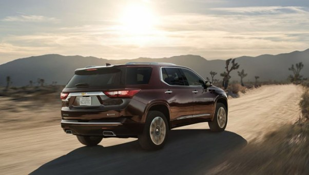 2018 Chevy Traverse Release Date