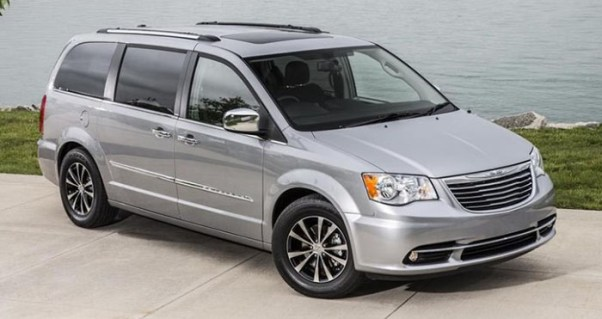 2018 Chrysler Town and Country Spec