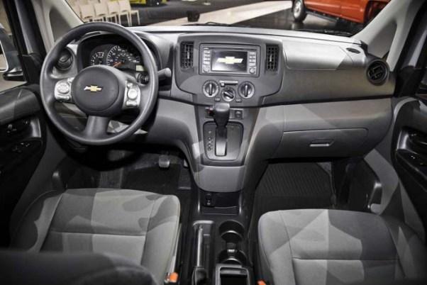 2019 Chevy Express Interior
