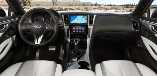 2019 Infiniti Q60 Interior