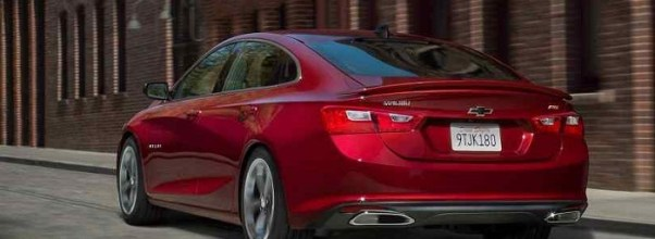 2019 Chevy Malibu rear