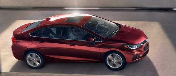 2019 Chevy Cruze relaease date