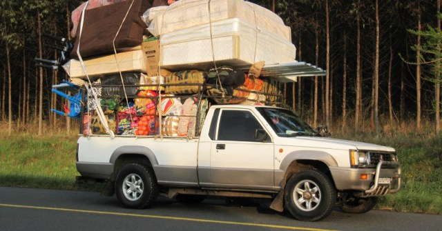 11.22.16 - Overloaded Truck