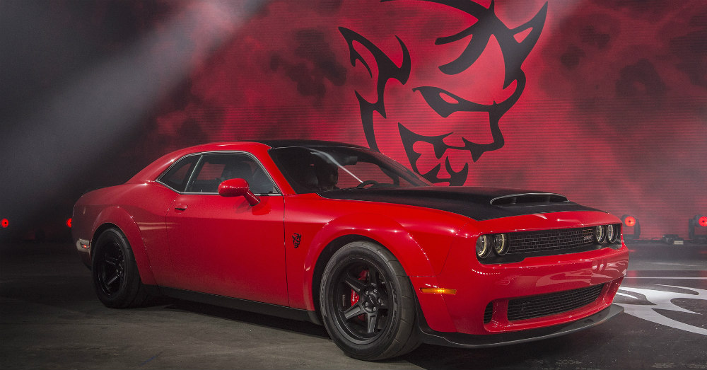 The Demon has an Effect on the Hellcat
