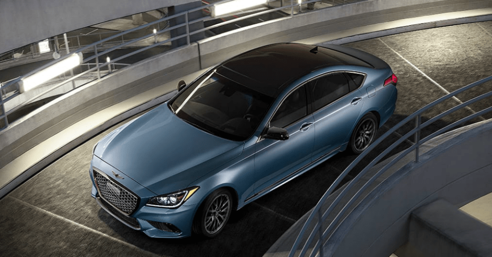 Comfortable Style in the Genesis G80
