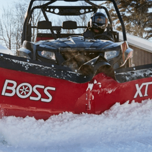 Meet Winter Head-On with the Boss UTV V Plow