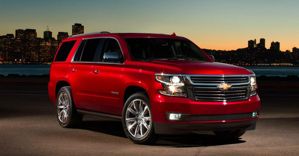 2020 Chevrolet - Get Things Done in the Tahoe