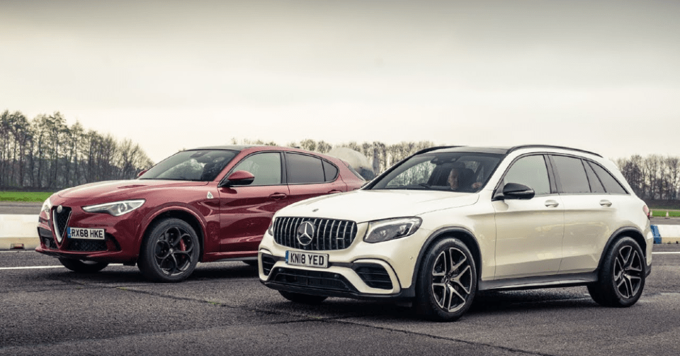 Alfa Romeo Stelvio and Mercedes-Benz GLC - Compact Luxury Compared