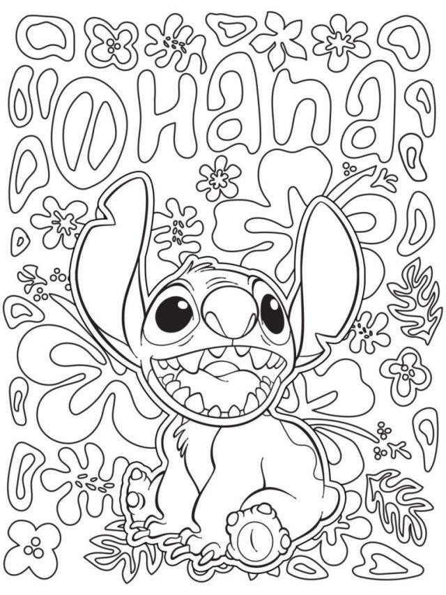 Coloriage Disney pour adultes gratuit à imprimer et colorier