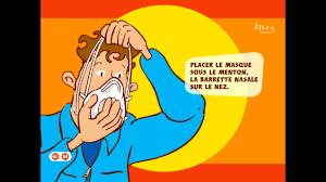 bien porter et manipuler un masque de protection