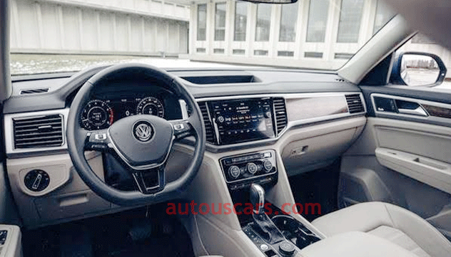 2021 Volkswagen Atlas V6 Interior Review