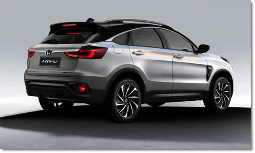 2022 Honda HRV Redesign