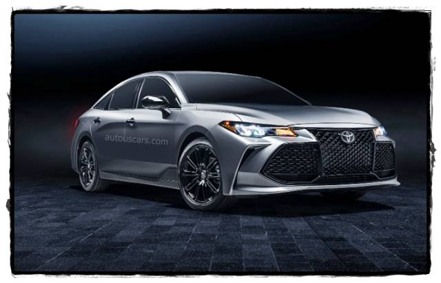 2022 Toyota Avalon Redesign