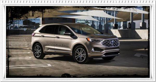 2023 Ford Edge USA