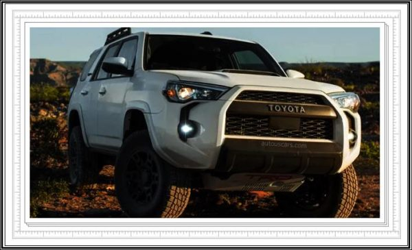 2023 Toyota 4runner Features