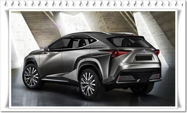 Next-Generation 2022 Lexus NX