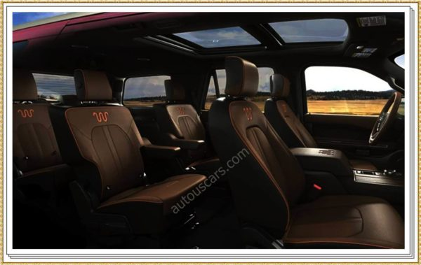 2023 Ford Expedition Interior