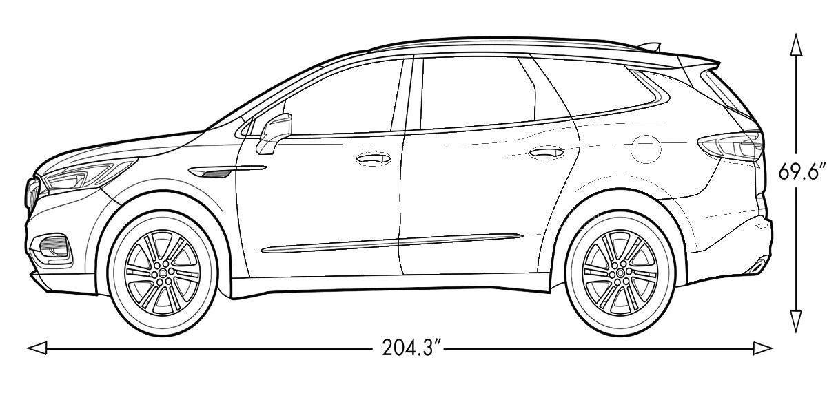 2022-Buick-Enclave-Avenir-Specs