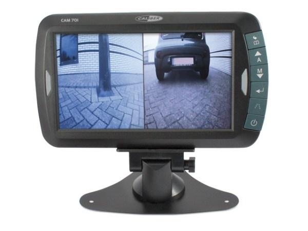 """Digitaal draadloos achteruitrij camerasysteem met 7"""" TFT monitor CAM701"""