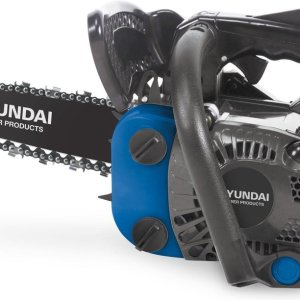 Hyundai carving kettingzaag 25cc - 2-takt easy-start benzine motor - 25 cm zwaardlengte - incl. extra ketting en opbergtas