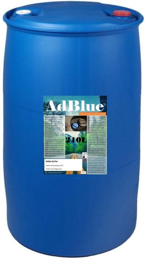 Adblue 210L Vat