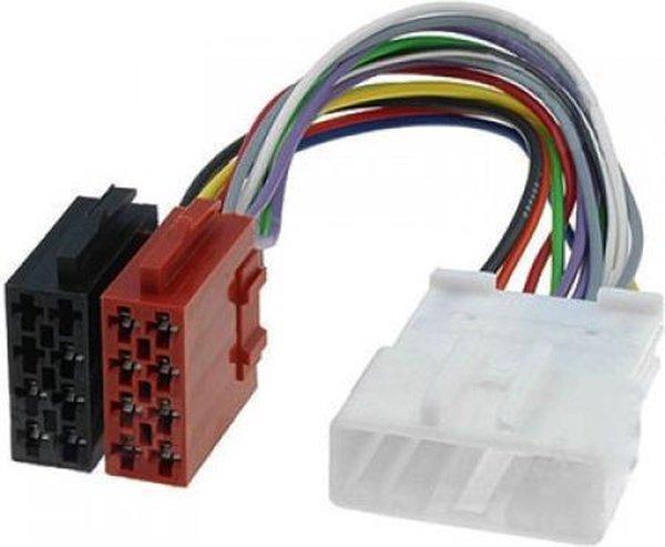Subaru Forester   Impreza   ISO kabel   verloopstekker voor autoradio